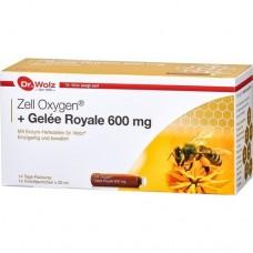 ZELL OXYGEN+Gelee Royale 600 mg Trinkampullen 14X20 ml
