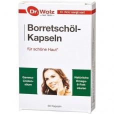 BORRETSCHÖL KAPSELN Dr.Wolz 60 St