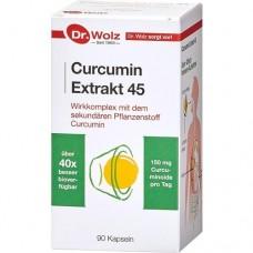 CURCUMIN Extrakt 45 Dr.Wolz Kapseln 90 St