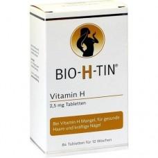 BIO-H-TIN Vitamin H 2,5 mg für 12 Wochen Tabletten 84 St