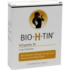 BIO-H-TIN Vitamin H 5 mg für 1 Monat Tabletten 15 St