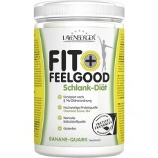 LAYENBERGER Fit+Feelg.SLIM Mahlz.Ersatz Ban.-Quark 430 g