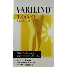 VARILIND Travel 180den AD S BW anthrazit 2 St