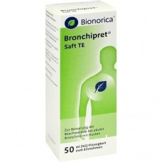 BRONCHIPRET Saft TE 50 ml
