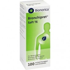 BRONCHIPRET Saft TE 100 ml