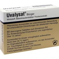 UVALYSAT Bürger überzogene Tabletten 60 St