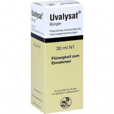 UVALYSAT Bürger Tropfen 30 ml