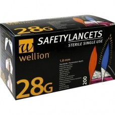 WELLION Lanzetten Safetylancets 28 G 200 St