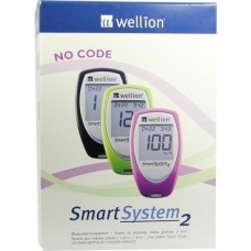 WELLION SmartSyst.2 Blutz.Messg.Set mmol/l grün 1 St