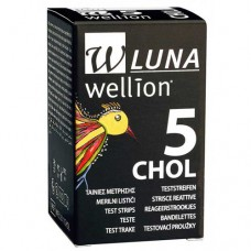 WELLION LUNA Cholesterinteststreifen 5 St