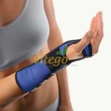 BORT Arm Handgel.Schiene links x-small blau/schw. 1 St