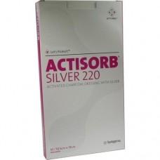 ACTISORB 220 Silver 10,5x19 cm steril Kompressen 10 St