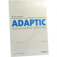 ADAPTIC 7,6x20,3 cm feuchte Wundauflage 10 St