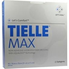 TIELLE Max Hydropolymer-Verband 15x15 cm 10 St