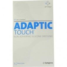ADAPTIC Touch 5x7,6 cm nichthaft.Sil.Wundauflage 10 St