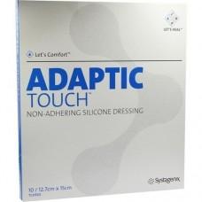 ADAPTIC Touch 12,7x15 cm nichthaft.Sil.Wundauflage 10 St