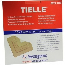 TIELLE Hydropolymer-Verband 15x15 cm steril 10 St