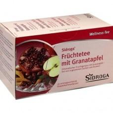 SIDROGA Wellness Früchtetee m.Granatapfel Filterb. 20 St
