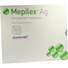 MEPILEX Ag Schaumverband 15x15 cm steril 5 St