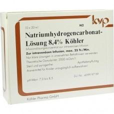 NATRIUM HYDROGENCARBONAT 8,4% 10X20 ml