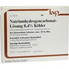 NATRIUM HYDROGENCARBONAT 8,4% 5X20 ml