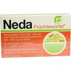 NEDA Früchtewürfel 15 St