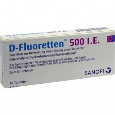 D FLUORETTEN 500 Tabletten 30 St