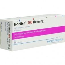JODETTEN 200 Henning Tabletten 100 St