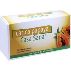 CASA SANA Carica Papaya 20X22 ml