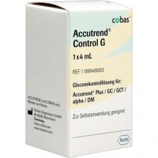 ACCUTREND Control Glucose Lösung 1X4 ml