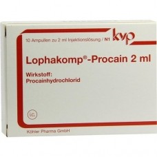 LOPHAKOMP Procain 2 ml Injektionslösung 10X2 ml