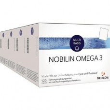 NOBILIN Omega 3 Kapseln 4X120 St