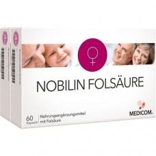 NOBILIN Folsäure Kapseln 2X60 St