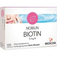 NOBILIN Biotin 5 mg N Tabletten 100 St