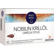 NOBILIN Krillöl Omega 3 Plus Kapseln 60 St