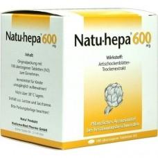 NATU HEPA 600 mg überzogene Tabletten 100 St