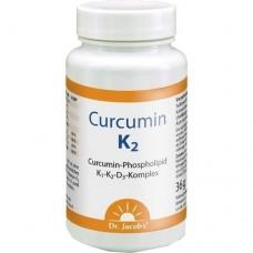 CURCUMIN K2 Dr.Jacob's Kapseln 60 St
