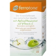 FERROTONE Eisen m.Apfelkonzentrat u.Vitamin C Btl. 14X25 ml