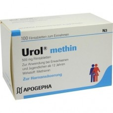 UROL METHIN Filmtabletten 100 St