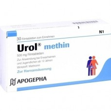 UROL METHIN Filmtabletten 30 St