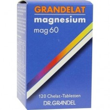 GRANDELAT MAG 60 MAGNESIUM Tabletten 120 St