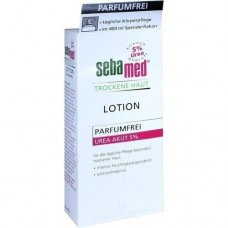 SEBAMED Trockene Haut parfümfrei Lotion Urea 5% 400 ml