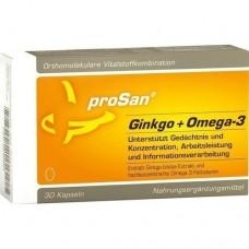 PROSAN Ginkgo+Omega-3 Kapseln 30 St