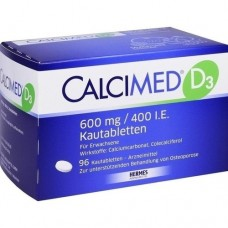 CALCIMED D3 600 mg/400 I.E. Kautabletten 96 St