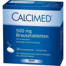CALCIMED 500 mg Brausetabletten 20 St