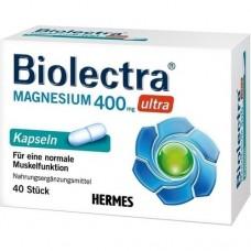 BIOLECTRA Magnesium 400 mg ultra Kapseln 40 St