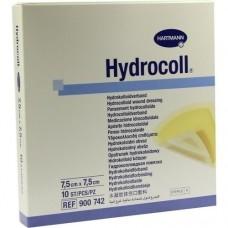 HYDROCOLL Wundverband 7,5x7,5 cm 10 St