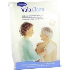 VALACLEAN soft Einmal Waschhandschuhe 15 St