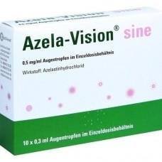 AZELA-Vision sine 0,5 mg/ml Augentr.i.Einzeldosis. 10X0.3 ml