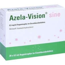 AZELA-Vision sine 0,5 mg/ml Augentr.i.Einzeldosis. 20X0.3 ml